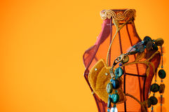 Mannequin mit Halskette Lizenzfreies Stockfoto