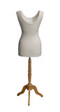 Mannequin with path Royalty Free Stock Photography