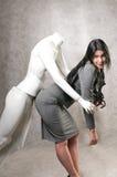 mannequin piękna męska kobieta Obraz Stock