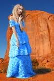 Mannequin Posing in een Nationaal Park Royalty-vrije Stock Foto's