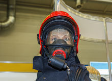 Mannequin in protective clothing for rescuers Stock Image