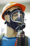 Mannequin with protective gear Royalty Free Stock Image