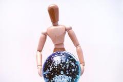 Mannequin psychique image stock