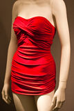 Mannequin in red Royalty Free Stock Image