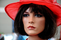 Mannequin retro Imagem de Stock