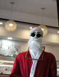 MANNEQUIN WITH SANTA CLAUS SUIT royalty free stock photo