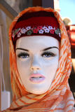 Mannequin with scarf Stock Image