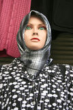 Mannequin in scarf Stock Photo