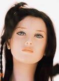 Mannequin-Schönheit - lizenzfreies stockbild