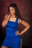 Mannequin sexy d'Afro-américain Photo libre de droits