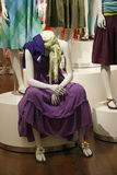 Mannequin in the shop Royalty Free Stock Image