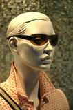 Mannequin In A Shop Window Royalty Free Stock Image