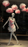Mannequin in a showcase Royalty Free Stock Image