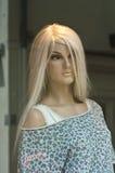 Mannequin showcase Royalty Free Stock Photo