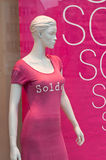 Mannequin in a showroom discount Royalty Free Stock Photos