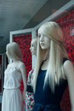 Mannequin in a showroom Royalty Free Stock Images