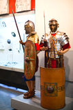 Mannequin soldiers in armor Royalty Free Stock Photos