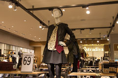Mannequin in store Stock Image