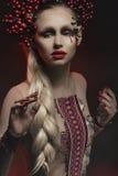 Mannequin in studio royalty-vrije stock foto