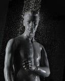 Mannequin subaquático foto de stock royalty free