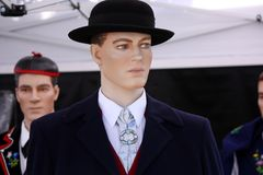 Mannequin in Suit stock images