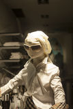 Mannequin with sunglasses and without face Stock Photo