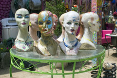 Mannequin twarze zdjęcia stock