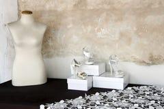Mannequin und Schuhe Lizenzfreie Stockfotos