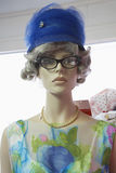 Mannequin In Vintage Clothing Stock Photography