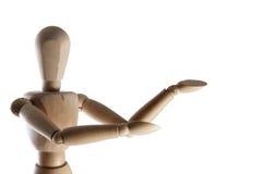 Mannequin voor kunstenaars stock foto