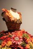 Mannequin w oszałamiająco balet sukni z spadku o temacie projektem, muzeum narodowe taniec i hall of fame, Saratoga, 2015 Fotografia Royalty Free