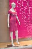 Mannequin w sala wystawowa rabacie Obrazy Royalty Free