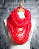 Mannequin wearing shawl Stock Photography