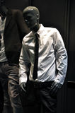 Mannequin in white shirt Royalty Free Stock Image