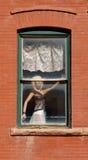 Mannequin in Window Stock Images