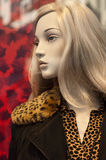 Mannequin winter fashion Royalty Free Stock Photos