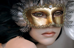 Mannequin With Mask Royalty Free Stock Photo