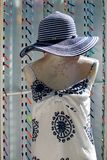 Mannequin z kapeluszem Obraz Stock