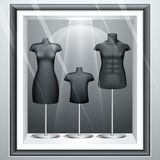 Mannequine in Display Royalty Free Stock Photos