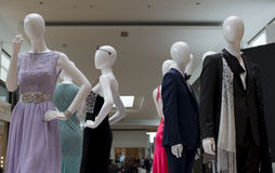 Mannequinne in the mall Royalty Free Stock Photography