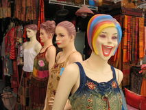 Mannequins in Bangkok Royalty Free Stock Photography