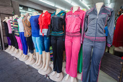 Mannequins Fashion Clothing Store  Stock Photo