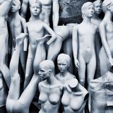 Mannequins composition Royalty Free Stock Image