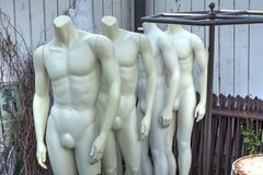 Mannequins in a corner Stock Photography