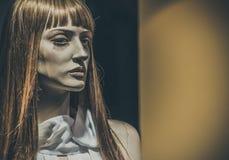 Mannequins dans les magasins poup?es image libre de droits