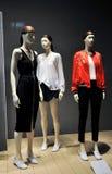 Mannequins dans une mémoire de mode Image libre de droits