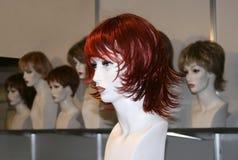 Mannequins in de winkel Stock Fotografie