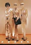 mannequins della memoria della finestra Fotografie Stock Libere da Diritti