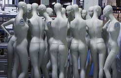 Mannequins di modo Fotografia Stock