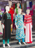 Mannequins dressed in latest Indian fashion dress Stock Photography